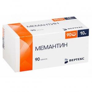 Мемантин-Вертекс табл.п.п.о. 10мг. №90