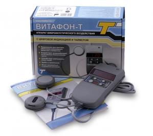 Витафон-Т Аппарат виброакустического воздействия+цифровой индикатор+таймер