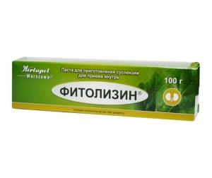 Фитолизин паста д/приг. сусп. д/приема внутрь туба 100г