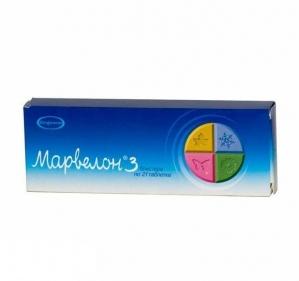 Марвелон табл. 150мкг/30мкг №63